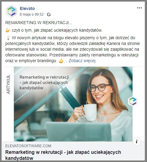 Konto firmowe na Facebooku